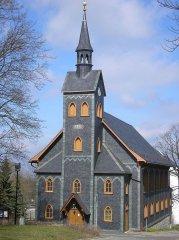 Grootste houten kerk in Thüringen